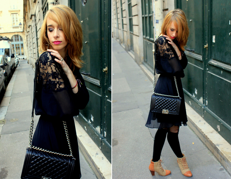 Cheap look tendance total noir