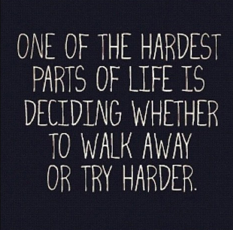 one of the hardest parts of life