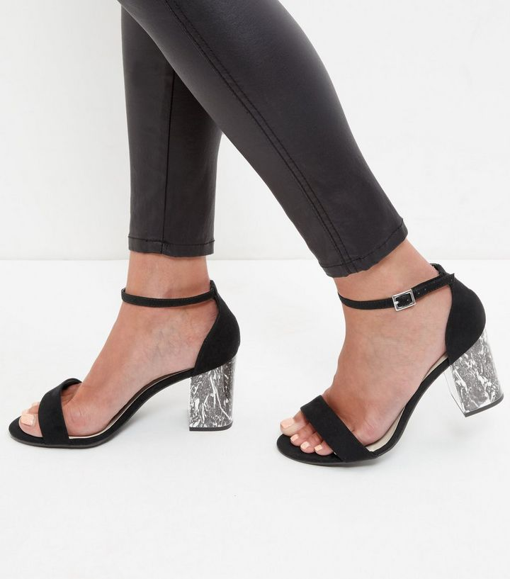 sandales-à-talons-block-wide-fit-noires